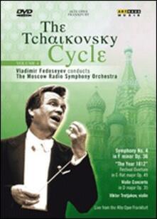 The Tchaikovsky Cycle Vol. 4. Symphony No. 4 - Violin Concerto - DVD