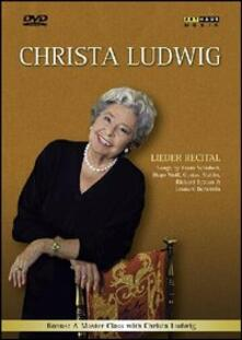 Christa Ludwig. Lieder Recital di Claus Viller - DVD