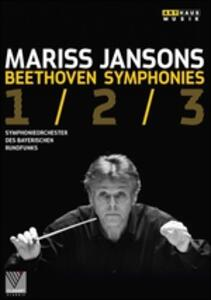Mariss Jansons. Beethoven. Symphonies 1/2/3 - DVD