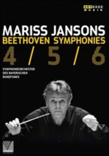 Mariss Jansons. Beethoven. Symphonies 4/5/6 - DVD