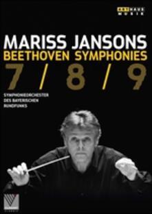 Mariss Jansons. Beethoven. Symphonies 7/8/9 - DVD