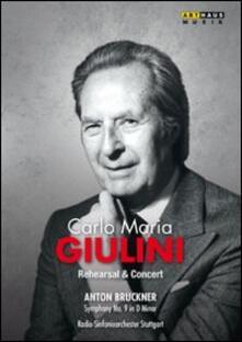 Carlo Maria Giulini. In Rehearsal - DVD