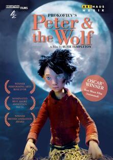 Peter & the Wolf. Pierino e il lupo di Suzie Templeton - DVD