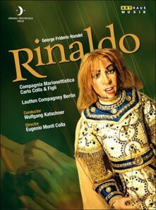 George Friederic Handel. Rinaldo (3 DVD) di Eugenio Monti Colla - DVD