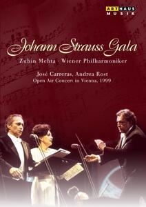 Johann Strauss Gala. Open Air Concert in Vienna, 1999 - DVD