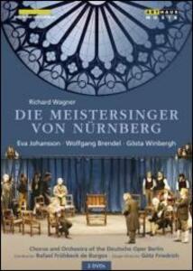 Richard Wagner. I Maestri Cantori di Norimberga (2 DVD) di Gotz Friedrich - DVD