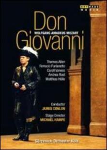 Wolfgang Amadeus Mozart. Don Giovanni di Michael Hampe - DVD