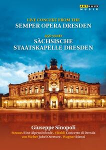 Live Concert from the Semper Opera Dresden - DVD