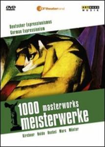 German Expressionism. 1000 Masterworks di Reiner E. Moritz - DVD