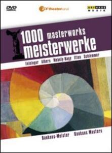 Bauhaus Masters. 1000 Masterworks - DVD
