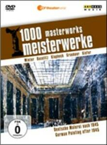 German Painting after 1945. 1000 Masterworks - DVD
