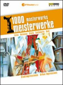 Impressioni urbane. Stadtimpressionen. 1000 Mastserworks - DVD