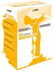 1000 Masterworks. Meisterwerke. Renaissance to Postmodernism (10 DVD) - DVD