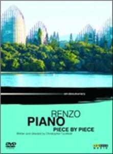 Renzo Piano. Piece by Piece di Christopher Tuckfield - DVD