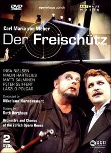 Carl Maria Von Weber. Der Freischütz. Il Franco Cacciatore - DVD