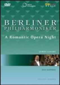 Berliner Philharmoniker. A Romantic Opera Night - DVD