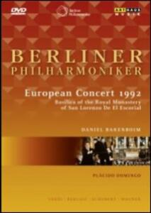 Berliner Philharmoniker . European Concert 1992 - DVD