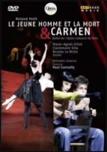Roland Petit. Le jeune homme et la mort - Carmen - DVD