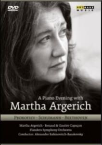 Martha Argerich. A Piano Evening With Martha Argerich - DVD