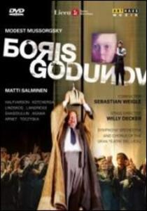 Modest Mussorgsky. Boris Godunov di Willy Decker - DVD