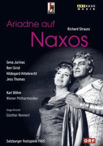 Richard Strauss. Arianna a Nasso. Ariadne auf Naxos di Günther Rennert - DVD