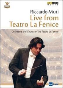 Riccardo Muti Live from Teatro La Fenice - DVD