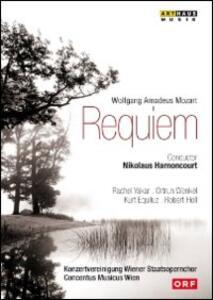 Wolfgang Amadeus Mozart. Requiem - DVD