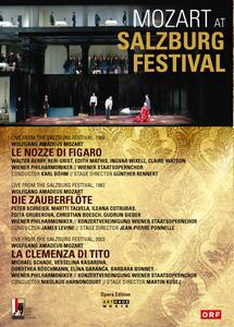Mozart at Salzburg Festival (3 DVD) di Jean-Pierre Ponnelle