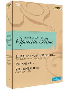 Franz Lehár. Operetta Films (3 DVD) di Václav Kaslík