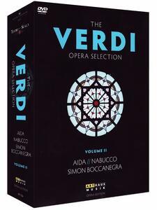 Verdi. The Verdi Opera Selection Vol. 2 (4 DVD) di Derek Bailey,Gunter Kramer,Luca Ronconi,Federico Tiezzi