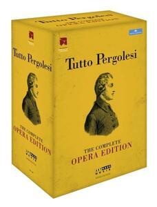 Tutto Pergolesi. The Complete Opera Edition (7 DVD) di Juliette Deschamps,Ignacio Garcia,Willy Landin,Italo Nunziata,Michal Znaniecki