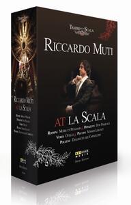 Riccardo Muti at La Scala (5 DVD) di Liliana Cavani,Luca Ronconi,Stefano Vizioli