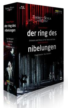 Richard Wagner. Der Ring des Nibelungen (4 Blu-ray) di Guy Cassiers