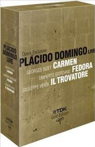 Pacido Domingo. Opera Exclusive Live (4 DVD) di Lamberto Puggelli,Franco Zeffirelli