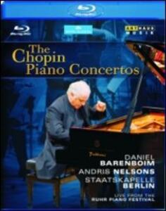 The Chopin Piano Concertos - Blu-ray