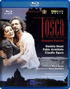 Giacomo Puccini. Tosca di Renzo Giacchieri - Blu-ray