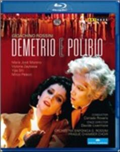 Gioacchino Rossini. Demetrio e Polibio di Davide Livermore - Blu-ray