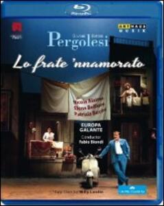 Giovanni Battista Pergolesi. Lo frate 'nnamorato di Willy Landin - Blu-ray