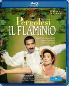 Giovanni Battista Pergolesi. Il flaminio di Michal Znaniecki - Blu-ray