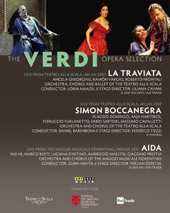 The Verdi Opera Selection (3 Blu-ray) di Liliana Cavani,Ferzan Ozpetek,Federico Tiezzi