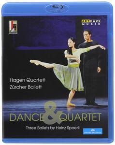 Dance & Quartet. Three Ballets by Heinz Spoerli - Blu-ray