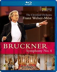 Anton Bruckner. Sinfonia n. 4 Romantica - Blu-ray