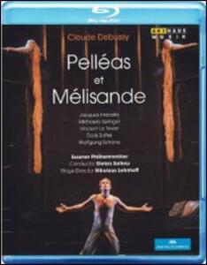 Claude Debussy. Pelleas et Melisande di Nikolaus Lehnhoff - Blu-ray