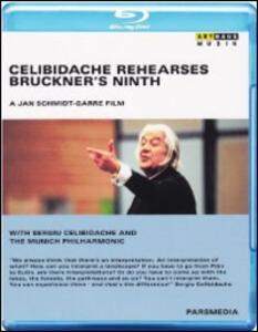 Celibidache Rehearses Bruckner's Ninth di Jan Schmidt-Garre - Blu-ray