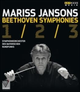 Mariss Jansons. Beethoven. Symphonies 1/2/3 - Blu-ray