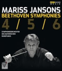 Mariss Jansons. Beethoven. Symphonies 4/5/6 - Blu-ray