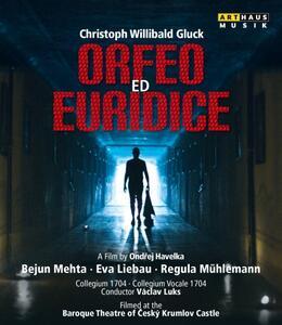 Christoph Willibald Gluck. Orfeo ed Euridice di Ondrej Havelka - Blu-ray