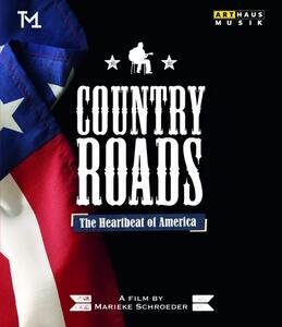 Country Roads. The Heartbeat of America di Marieke Schroeder - Blu-ray