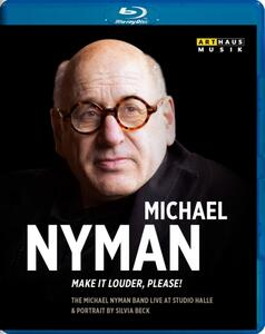 Michael Nyman. Make it Louder, Please! - Blu-ray