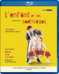 Ravel. L'enfant et les sortilèges. Prokofiev. Peter and the Wolf - Blu-ray